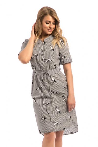 Платье из хлопка, П-466/8